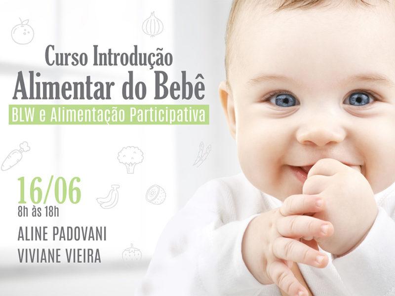 Curso de Introdução Alimentar do Bebê – BLW e Alimentação Participativa