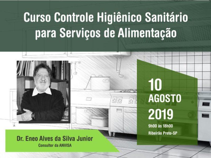 Curso Controle Higiênico Sanitário para Serviços de Alimentação